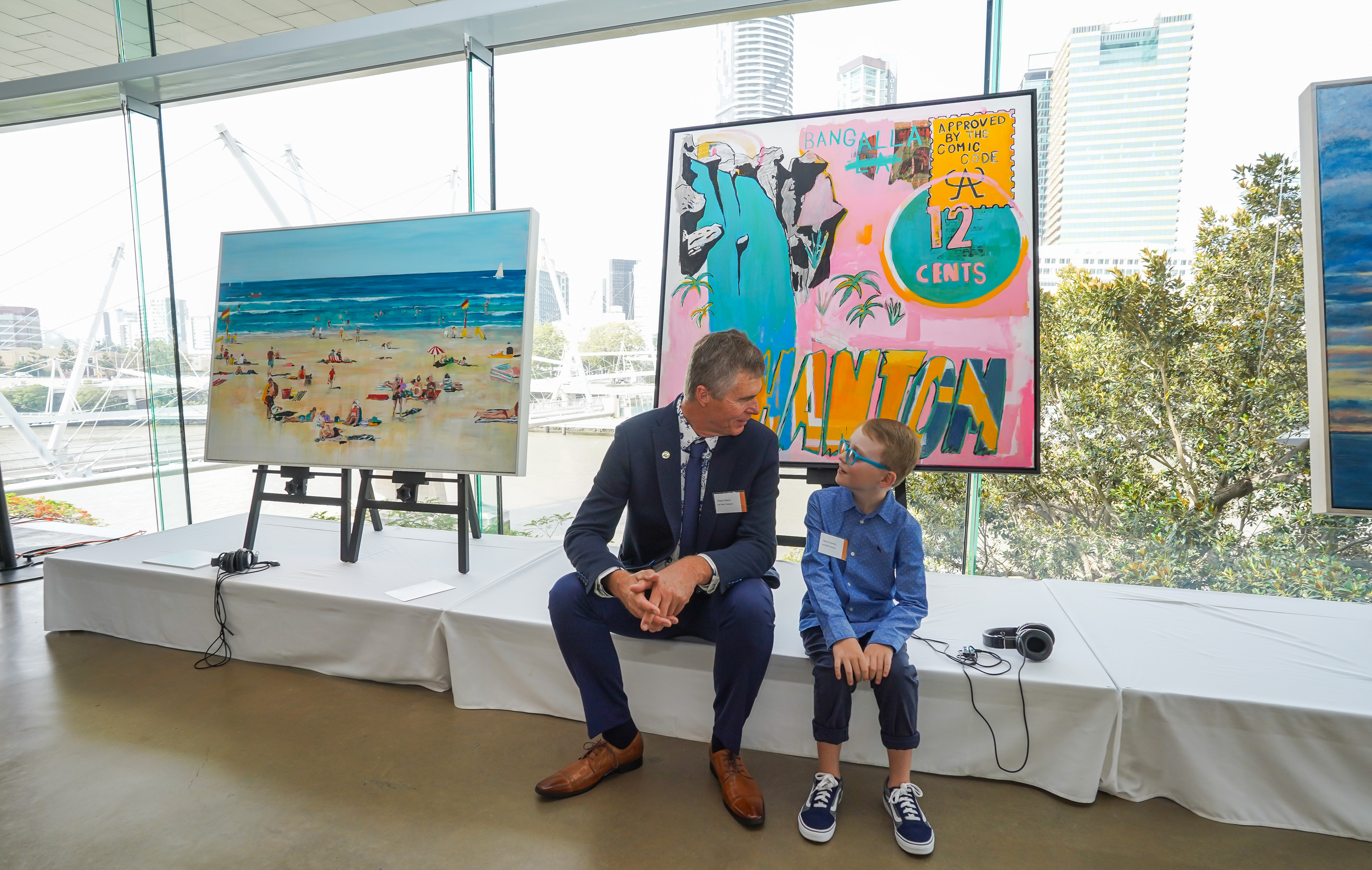 Last Seen Exhibition raises sight saving funds for QEIF